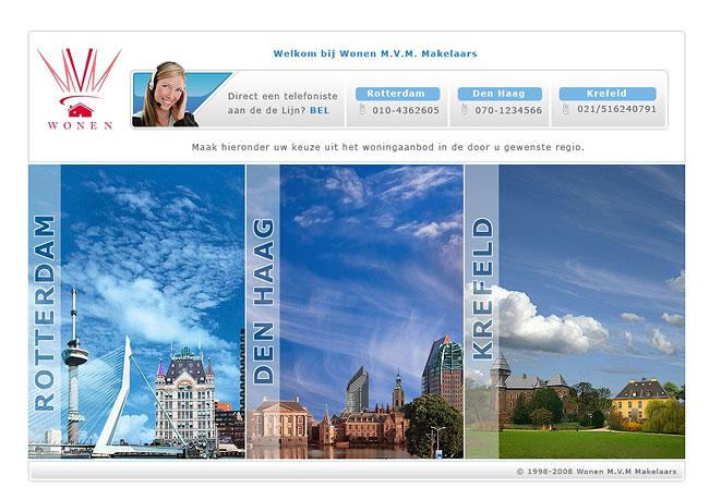 Webdesign krimpen aan de lek v v dilettant door webdesign for Direct wonen rotterdam